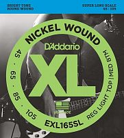EXL165 Nickel Wound Bass, Custom Light, 45-105